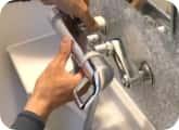 浴室水栓の交換