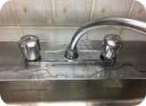 キッチン蛇口の水漏れ