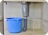 排水管から水漏れ